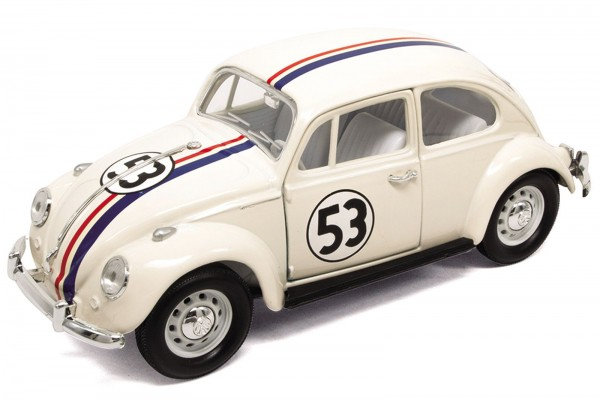 Lucky Diecast 1:24 VW Käfer / Beetle Herbie The Love Bug #53