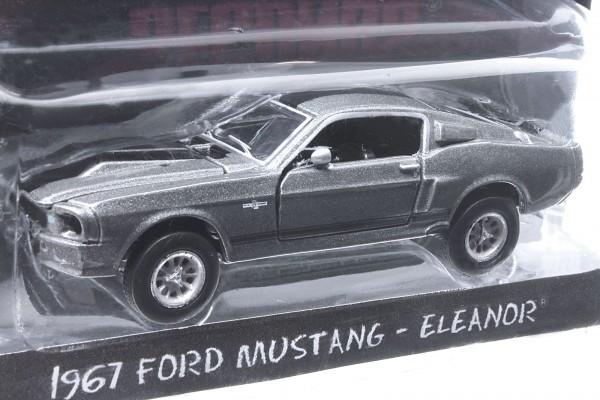 Greenlight 1:64 1967 Ford Mustang Shelby GT500 'Eleanor' Nur 60 Sekunden