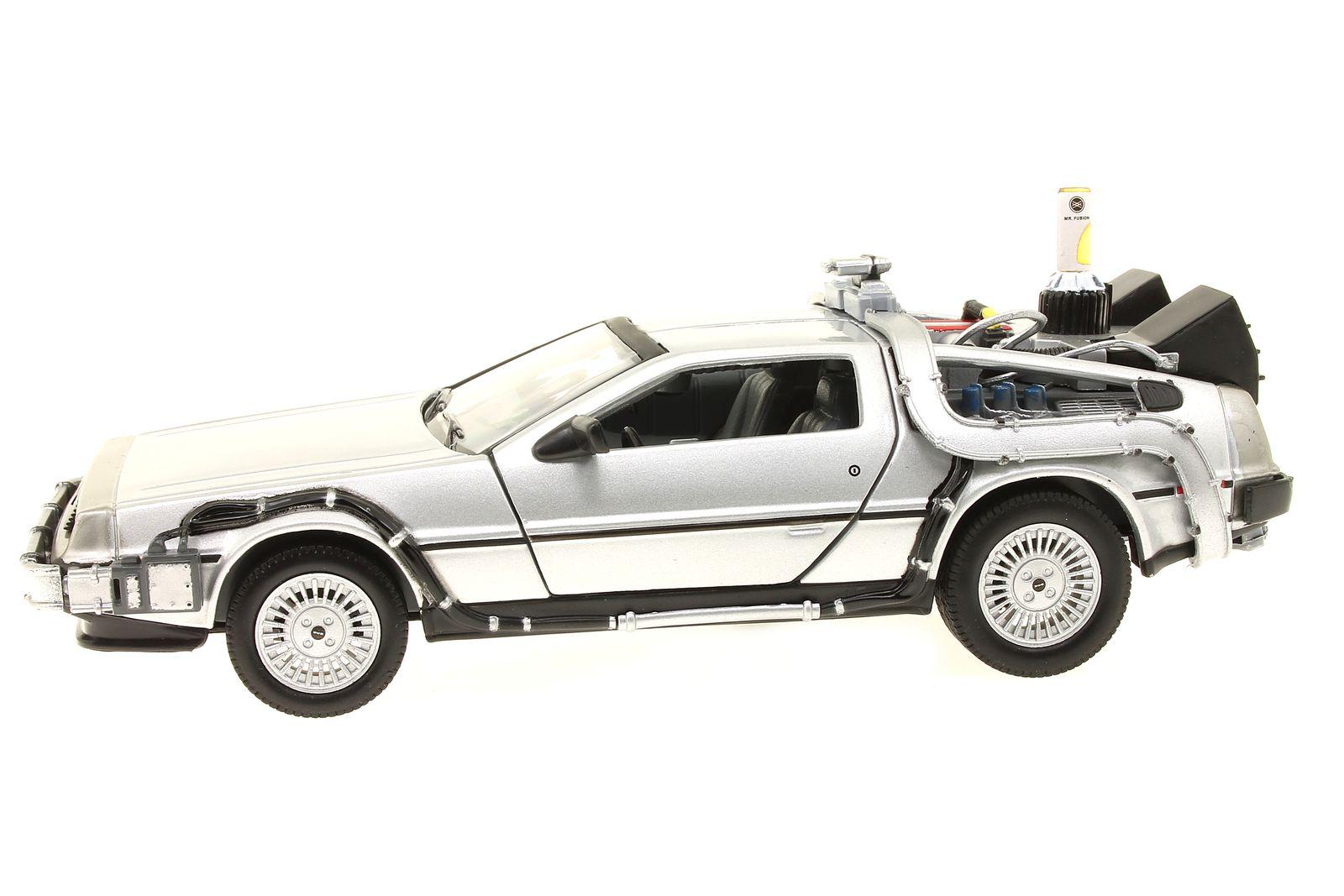 Metall Modellauto Delorean Zurück in die Zukunft Back To Future Auto Dekoration Blechspielzeug