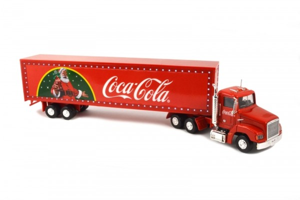 Motor City Classics 1:43 Coca Cola Weihnachts-Truck mit Beleuchtung