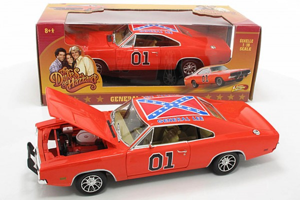 Auto World / Ertl 1:18 Dodge Charger 1969 Dukes General Lee