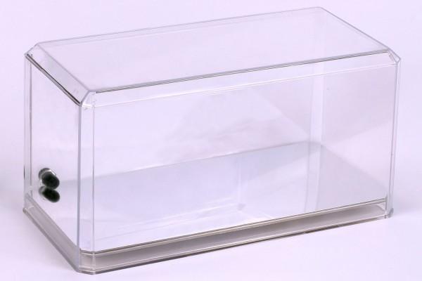 Acryl Vitrine für Diecast Modellauto mit LED Beleuchtung, Maßstab 1:24, spiegelnder Boden