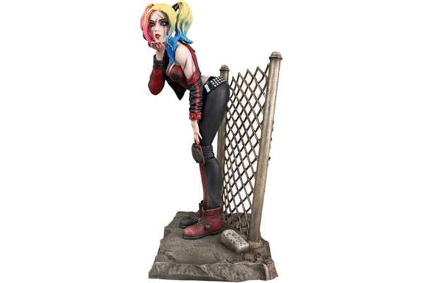 DC Collectibles Suicide Squad Harley Quinn Statue 20cm hoch