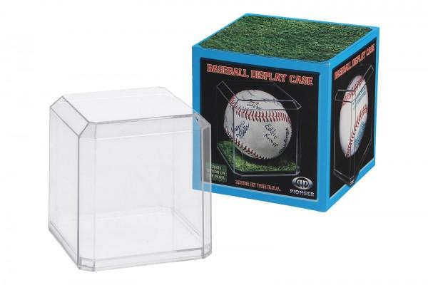 Pioneer Plastics - Vitrine aus Acryl zum Sammeln und Verstauen eines Tennisballs, 3er Set, klar