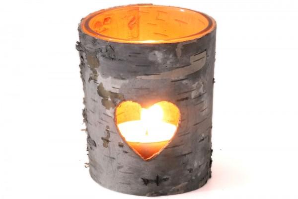 Teelichthalter Tischlicht Weihnachtslicht Herz