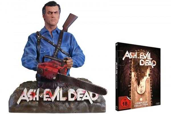 ASH VS EVIL DEAD 2 x DVD / Blu-ray incl. Figur